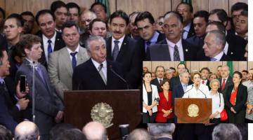 Quem é o progressista no quadro: o liberal Temer ou a intervencionista Dilma?