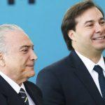 Mercados político e financeiro já precificaram saída de Temer e apostam em Maia